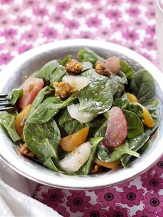 Spinach Grapefruit Salad0329