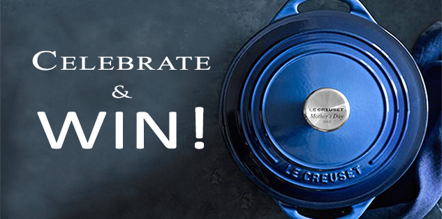 We're Celebrating Moms! Sign Up and Win A Le Creuset